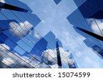 3d skyscrapers   Shutterstock . vector #15074599