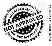 eps10 vector   not approved... | Shutterstock .eps vector #150750416