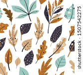 Seamless Pattern With Autumn...