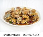 Stir Fried Clams With Roasted...