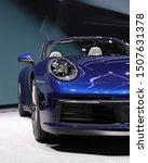 Blue Porsche 911 Carrera 4s...