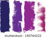 vector grunge paint roller... | Shutterstock .eps vector #150764222