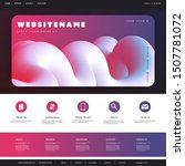 abstract website template...