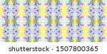 rainbow summer pattern. ...   Shutterstock . vector #1507800365