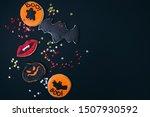 halloween decorated homemade...   Shutterstock . vector #1507930592