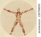 The Vitruvian Man. Remake Of...
