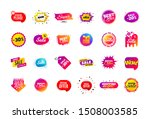 sale banner badge. special... | Shutterstock .eps vector #1508003585