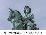 Equestrian Statue Of Louis Xiv...