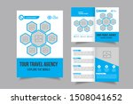 business bi fold brochure... | Shutterstock .eps vector #1508041652