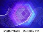 beautiful multicolored abstract ... | Shutterstock . vector #1508089445