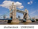 Tower Bridge In London On A...