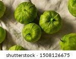 Organic Green Fresh Tomatillos...