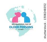 international day of older... | Shutterstock .eps vector #1508248352