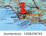 Location On The Map Of Napoli...