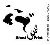 ghost print vector illustration ... | Shutterstock .eps vector #1508276912
