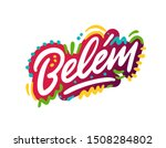 belim word text with creative... | Shutterstock .eps vector #1508284802