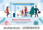 shopping and preparation before ... | Shutterstock .eps vector #1508384525