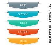 ribbon banner design....   Shutterstock .eps vector #1508434712