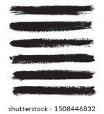 set of grunge brushes.vector... | Shutterstock .eps vector #1508446832