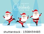 merry christmas and happy new... | Shutterstock .eps vector #1508454485
