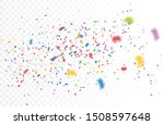 color confetti isolated on... | Shutterstock .eps vector #1508597648