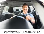 transport  vehicle and people... | Shutterstock . vector #1508609165