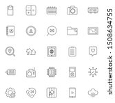 set 23 of ui and ux icon in...