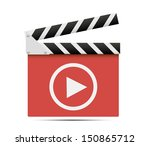 media player icon. | Shutterstock .eps vector #150865712