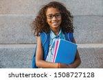 portrait of happy african...   Shutterstock . vector #1508727128