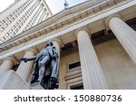 Facade Of The Federal Hall Wit...