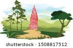 kerala traditional folk art...   Shutterstock .eps vector #1508817512