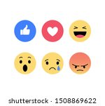 Facebook Like. Emoji  Emoticons....