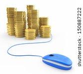 online banking  finance concept | Shutterstock . vector #150887222