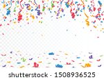 color confetti isolated on... | Shutterstock .eps vector #1508936525
