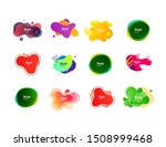 colorful abstract strokes set....   Shutterstock .eps vector #1508999468