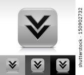 download arrow icon. gray color ...