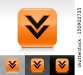 download arrow icon orange...
