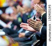 business people hands... | Shutterstock . vector #150905195