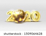 luxury 2020 new year party... | Shutterstock .eps vector #1509064628