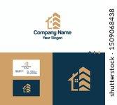 home real estate logo icon... | Shutterstock .eps vector #1509068438