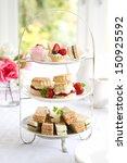 afternoon tea | Shutterstock . vector #150925592