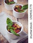 vegan food  roasted vegetables  ... | Shutterstock . vector #150931775