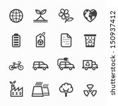 ecology icons and environment... | Shutterstock .eps vector #150937412