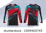 t shirt sport design template ...   Shutterstock .eps vector #1509403745