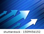 arrow background. business... | Shutterstock . vector #1509456152