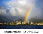 Honolulu Hawaii With A Bright...
