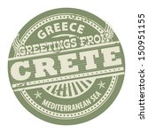 grunge color stamp with text... | Shutterstock .eps vector #150951155