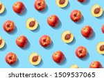 Colorful Fruit Pattern Of Fresh ...
