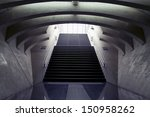design stairs to the arrival... | Shutterstock . vector #150958262