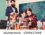 children making science... | Shutterstock . vector #1509617648